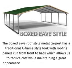 Boxed Eave A-Frame Style